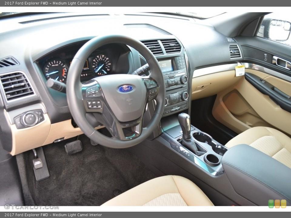 Medium Light Camel 2017 Ford Explorer Interiors