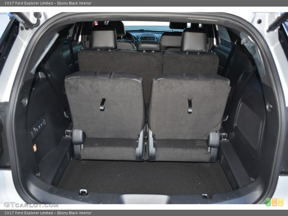 Ebony Black Interior Trunk for the 2017 Ford Explorer Limited #117705081
