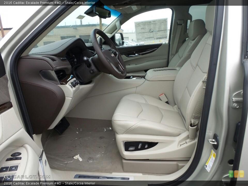 Shale/Cocoa Interior Photo for the 2016 Cadillac Escalade Premium 4WD #117868060
