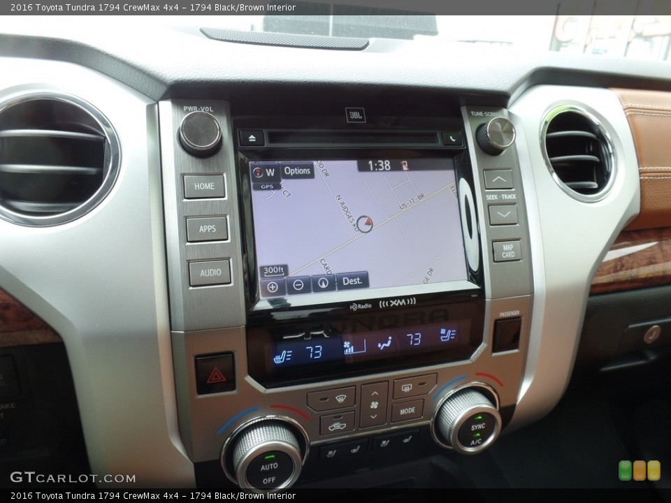 1794 Black/Brown Interior Controls for the 2016 Toyota Tundra 1794 CrewMax 4x4 #118015515