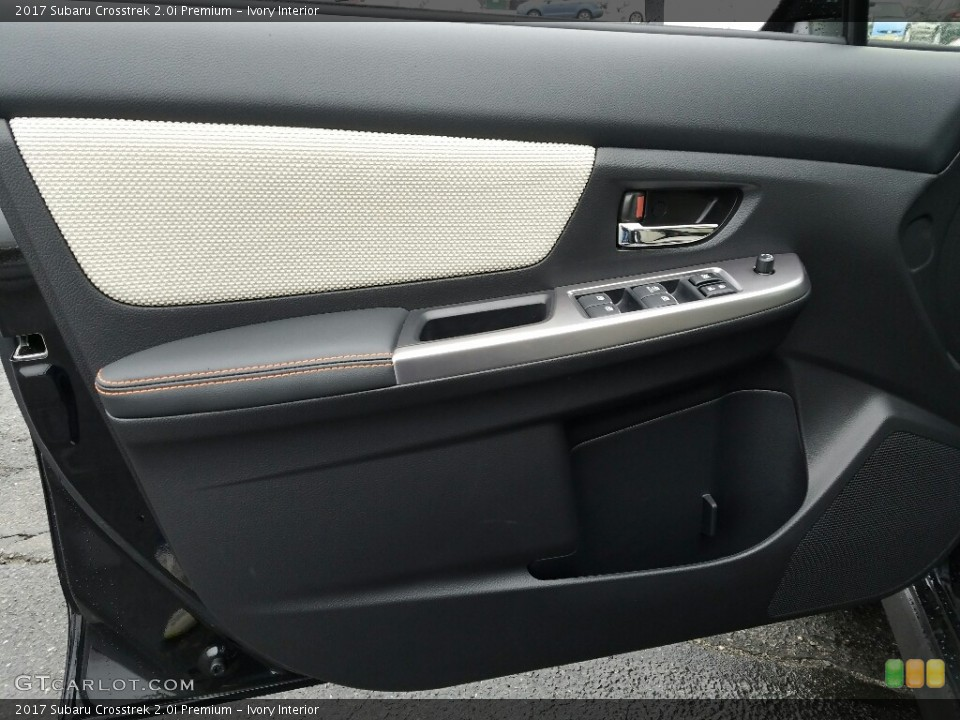 Ivory Interior Door Panel for the 2017 Subaru Crosstrek 2.0i Premium #118193978