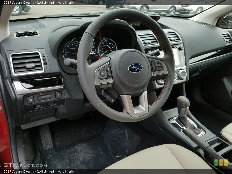 Ivory Interior Dashboard for the 2017 Subaru Crosstrek 2.0i Limited #118209935