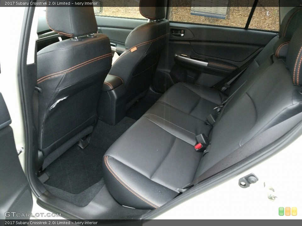 Ivory Interior Rear Seat for the 2017 Subaru Crosstrek 2.0i Limited #118563453