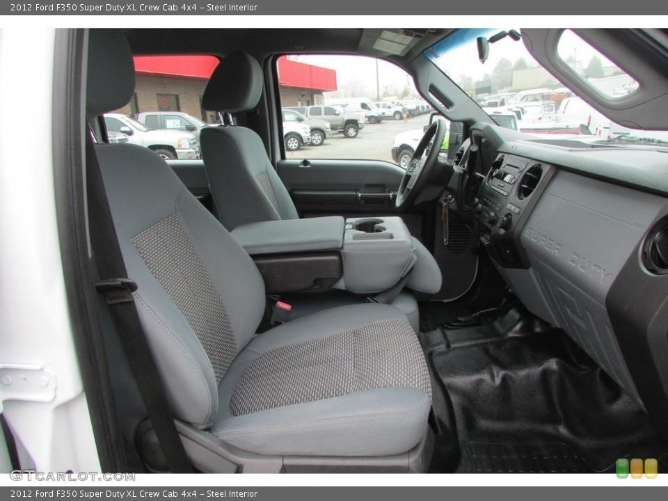 Steel 2012 Ford F350 Super Duty Interiors