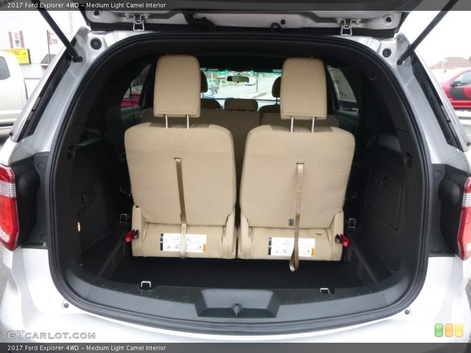 Medium Light Camel Interior Trunk for the 2017 Ford Explorer 4WD #118882789