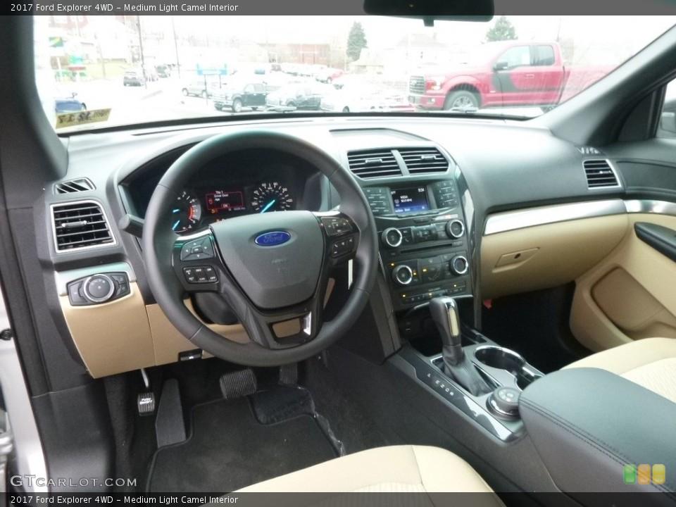 Medium Light Camel Interior Photo for the 2017 Ford Explorer 4WD #118882936