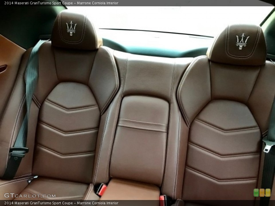 Marrone Corniola 2014 Maserati GranTurismo Interiors