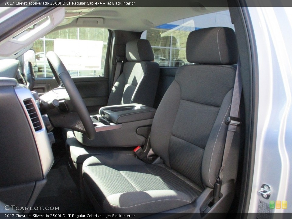 Jet Black 2017 Chevrolet Silverado 2500HD Interiors