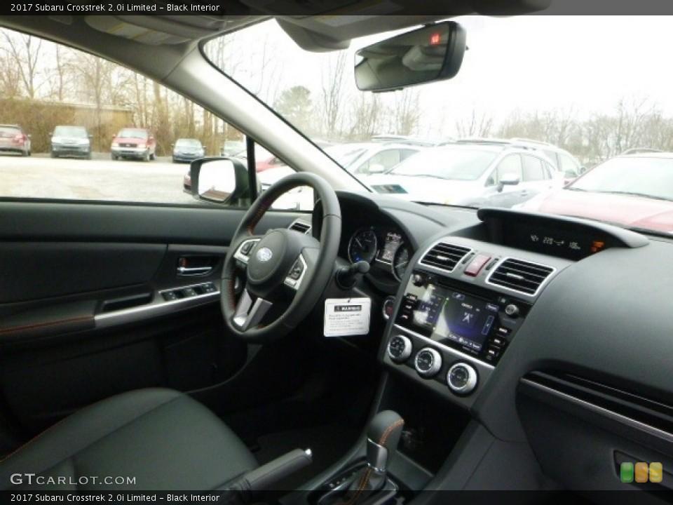 Black Interior Dashboard for the 2017 Subaru Crosstrek 2.0i Limited #119330962