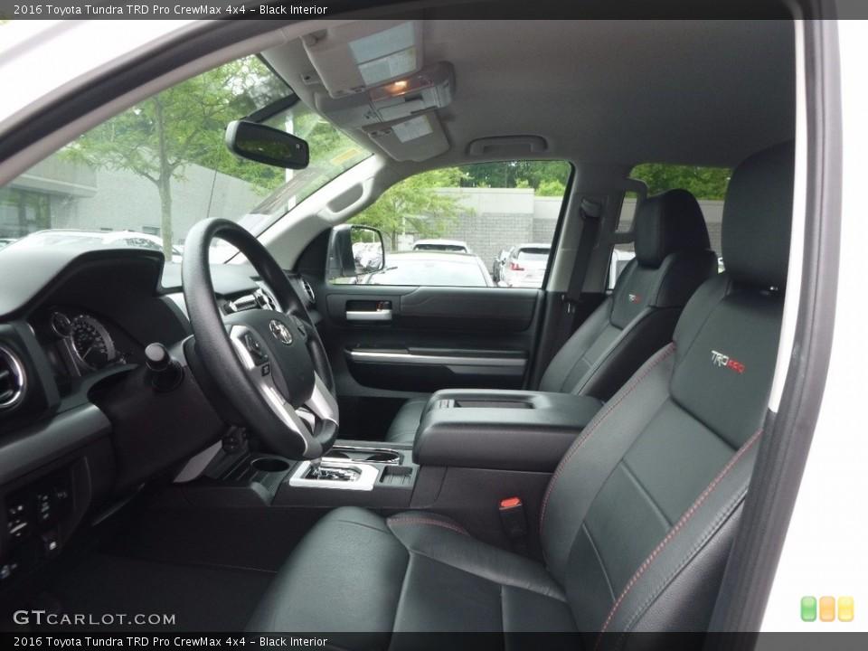 Black 2016 Toyota Tundra Interiors