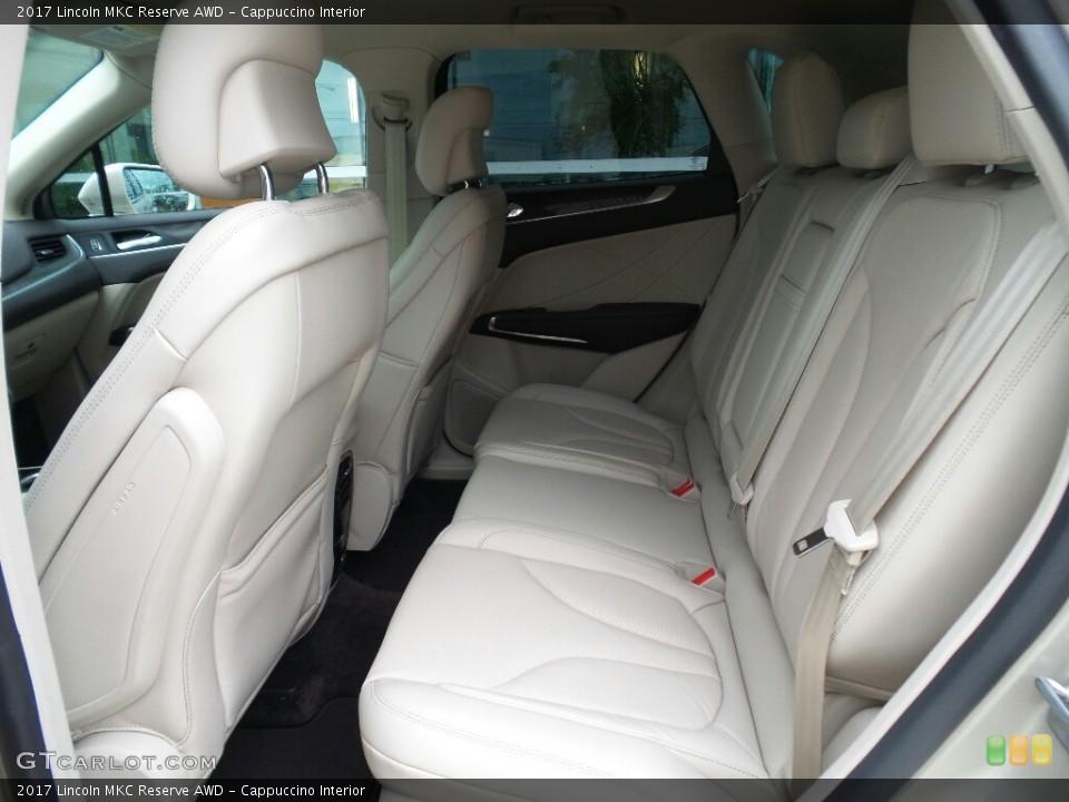 Cappuccino Interior Rear Seat for the 2017 Lincoln MKC Reserve AWD #121376135