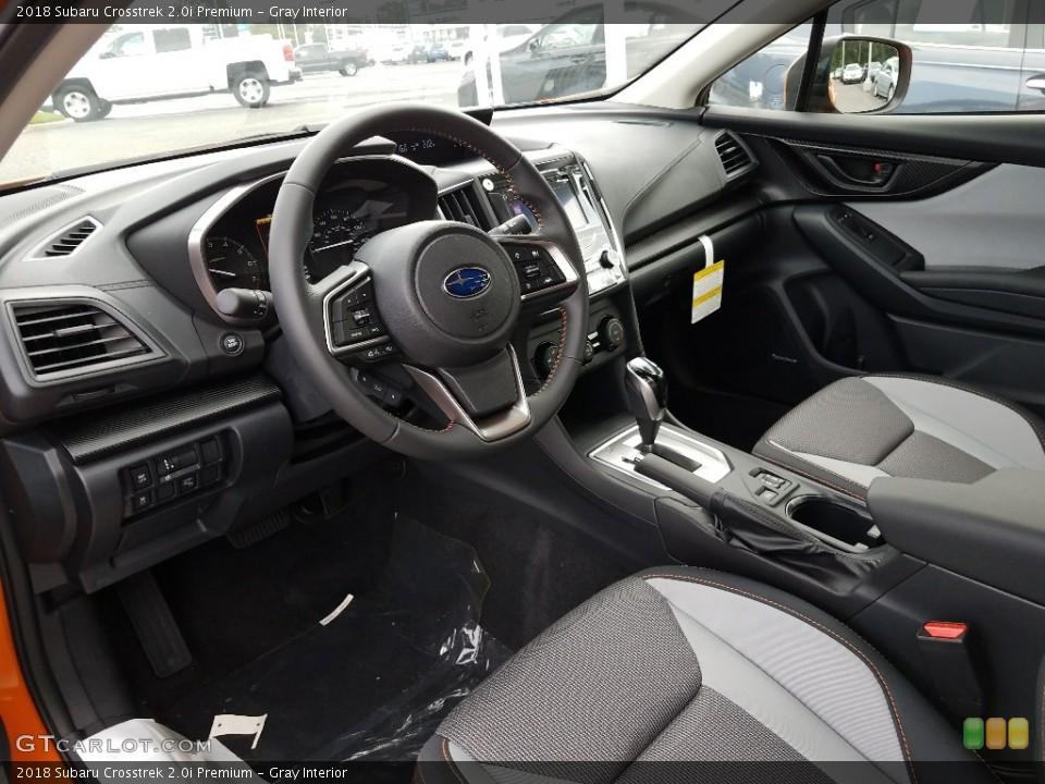 Gray Interior Photo for the 2018 Subaru Crosstrek 2.0i Premium #122342093