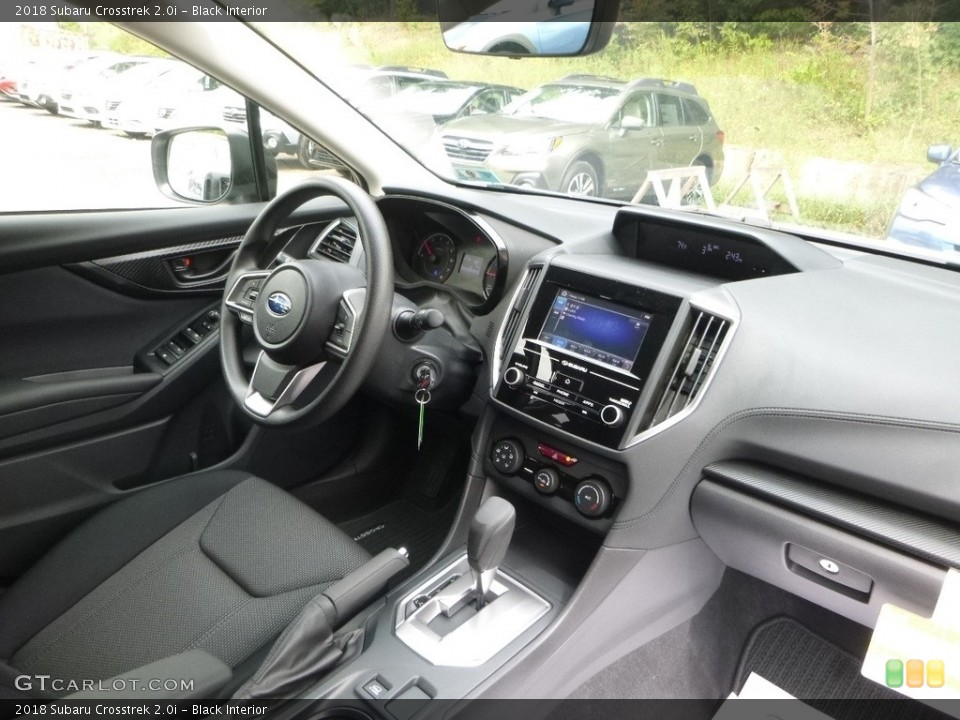 Black Interior Photo for the 2018 Subaru Crosstrek 2.0i #122810227