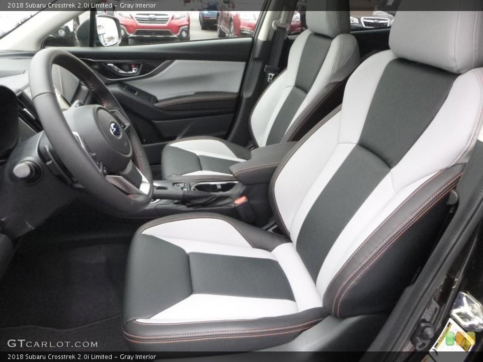 Gray 2018 Subaru Crosstrek Interiors