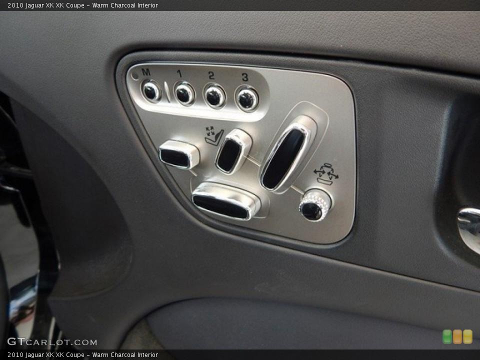 Warm Charcoal Interior Controls for the 2010 Jaguar XK XK Coupe #124027369