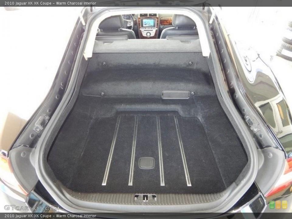 Warm Charcoal Interior Trunk for the 2010 Jaguar XK XK Coupe #124027382
