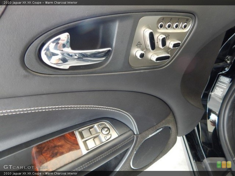 Warm Charcoal Interior Controls for the 2010 Jaguar XK XK Coupe #124027423