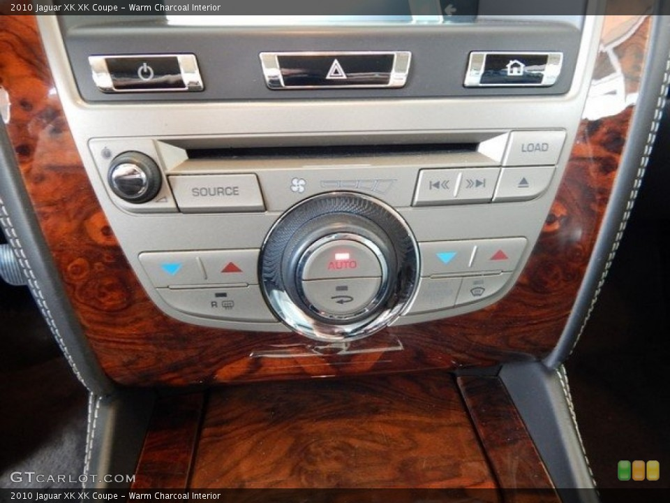 Warm Charcoal Interior Controls for the 2010 Jaguar XK XK Coupe #124027558