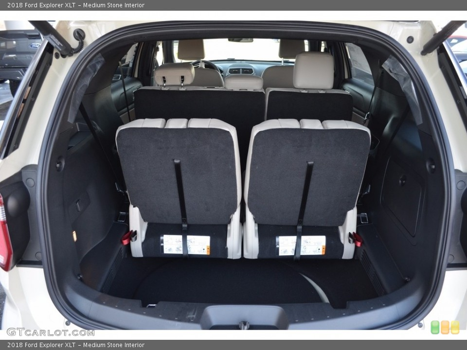 Medium Stone Interior Trunk for the 2018 Ford Explorer XLT #124230496