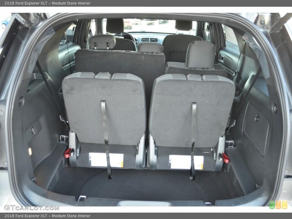 Medium Stone Interior Trunk for the 2018 Ford Explorer XLT #124386181