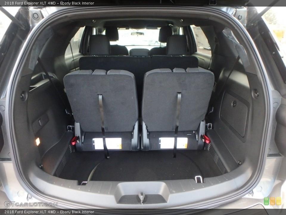 Ebony Black Interior Trunk for the 2018 Ford Explorer XLT 4WD #124516323