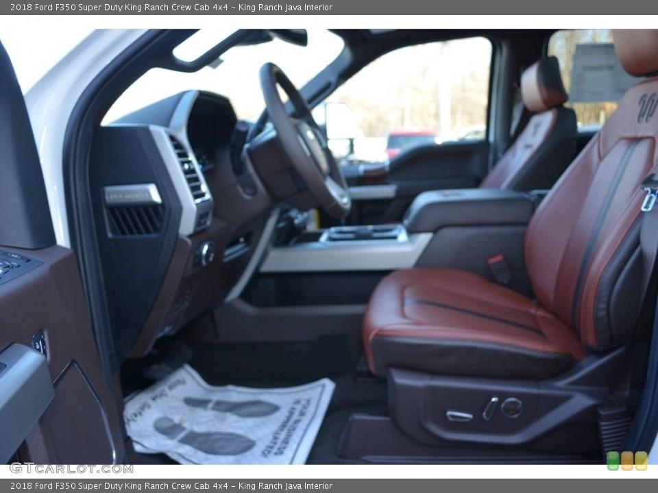 King Ranch Java 2018 Ford F350 Super Duty Interiors
