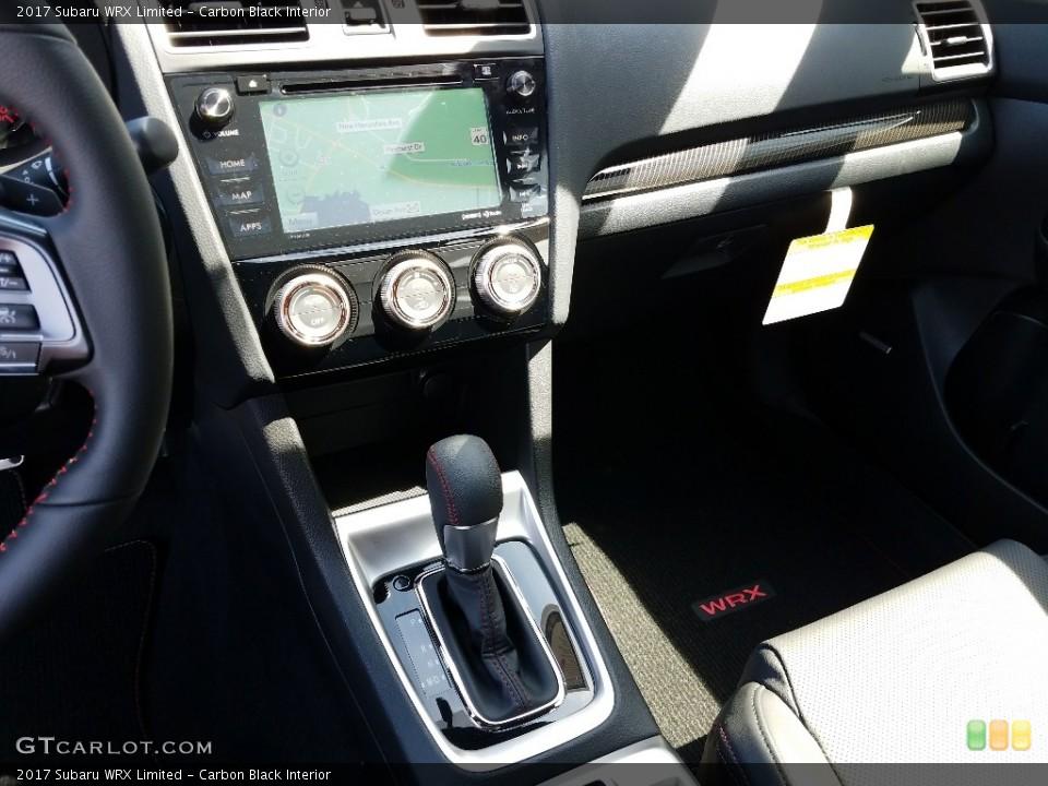 Carbon Black Interior Controls for the 2017 Subaru WRX Limited #125848148