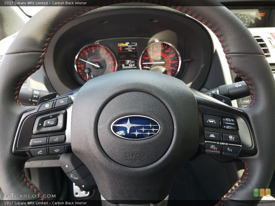Carbon Black Interior Steering Wheel for the 2017 Subaru WRX Limited #125848181