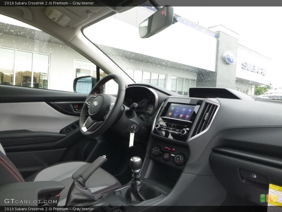 Gray Interior Transmission for the 2019 Subaru Crosstrek 2.0i Premium #128658988
