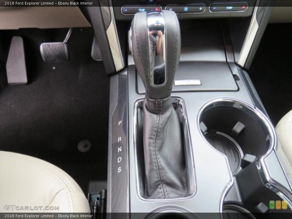 Ebony Black Interior Transmission for the 2018 Ford Explorer Limited #128980051