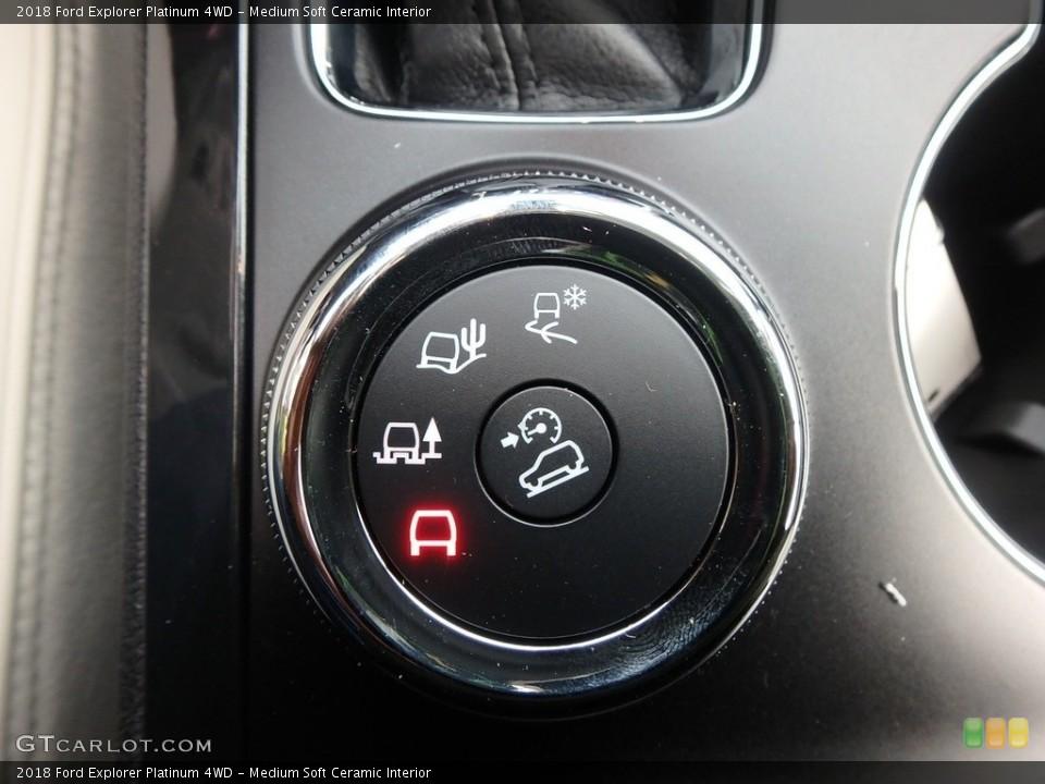 Medium Soft Ceramic Interior Controls for the 2018 Ford Explorer Platinum 4WD #129266964