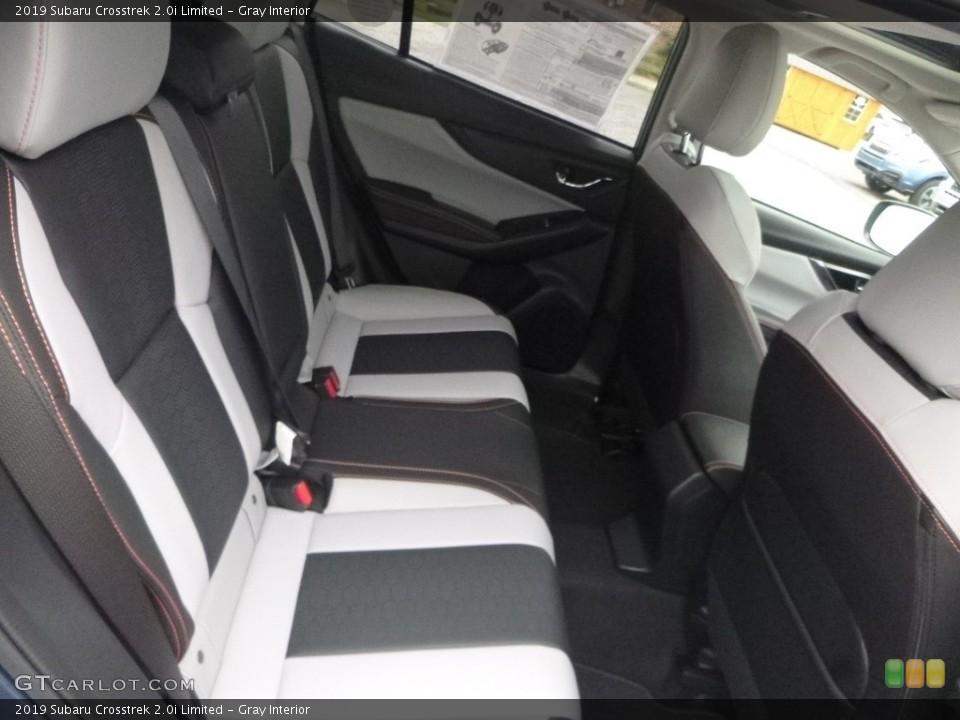Gray Interior Rear Seat for the 2019 Subaru Crosstrek 2.0i Limited #129316538
