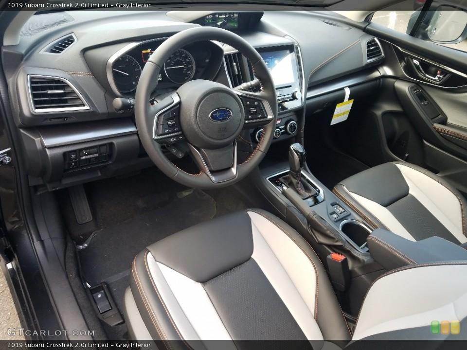 Gray Interior Photo for the 2019 Subaru Crosstrek 2.0i Limited #129726436