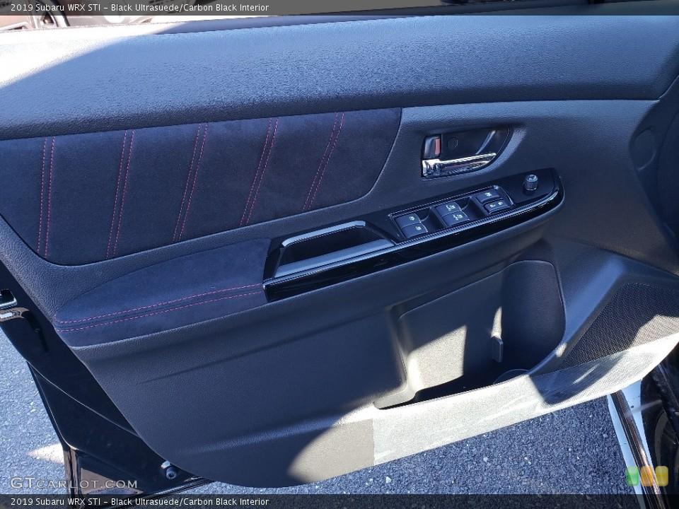 Black Ultrasuede/Carbon Black Interior Door Panel for the 2019 Subaru WRX STI #130188144