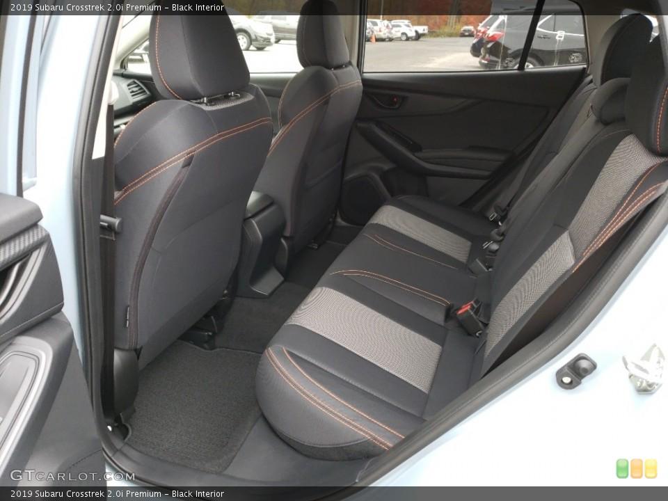 Black Interior Rear Seat for the 2019 Subaru Crosstrek 2.0i Premium #130268627