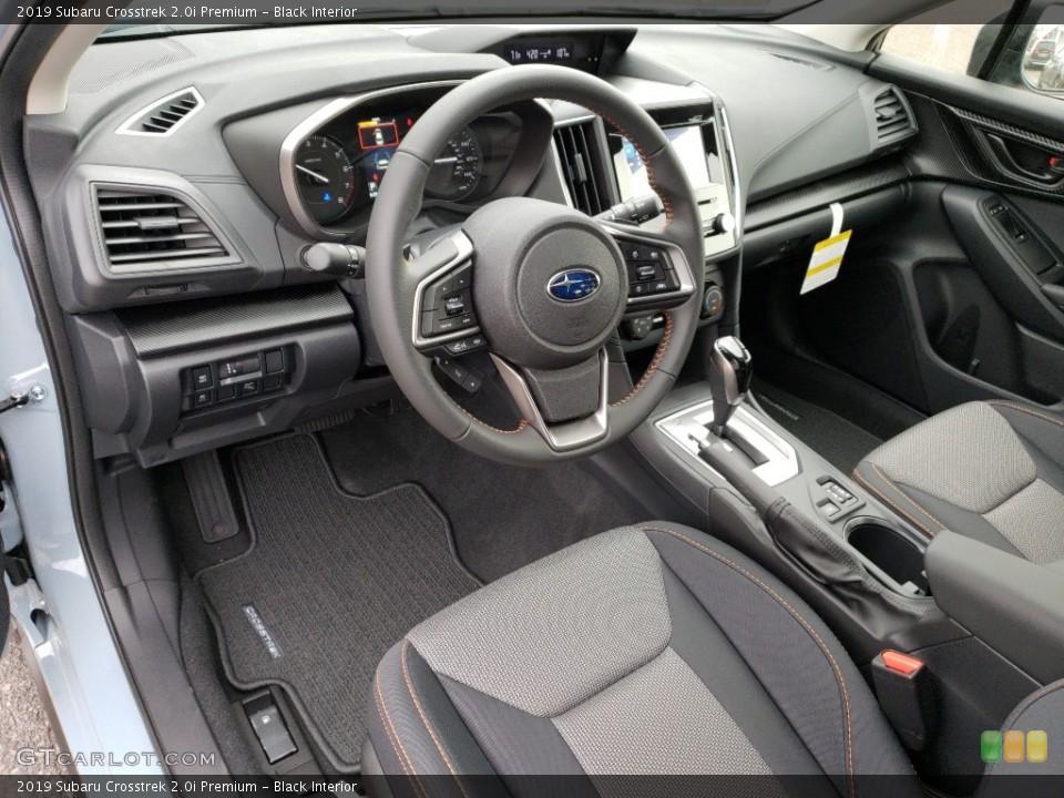Black Interior Photo for the 2019 Subaru Crosstrek 2.0i Premium #130268639