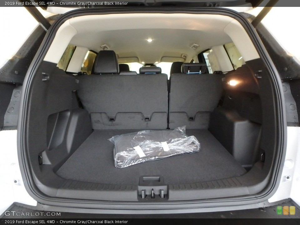 Chromite Gray/Charcoal Black Interior Trunk for the 2019 Ford Escape SEL 4WD #130417496