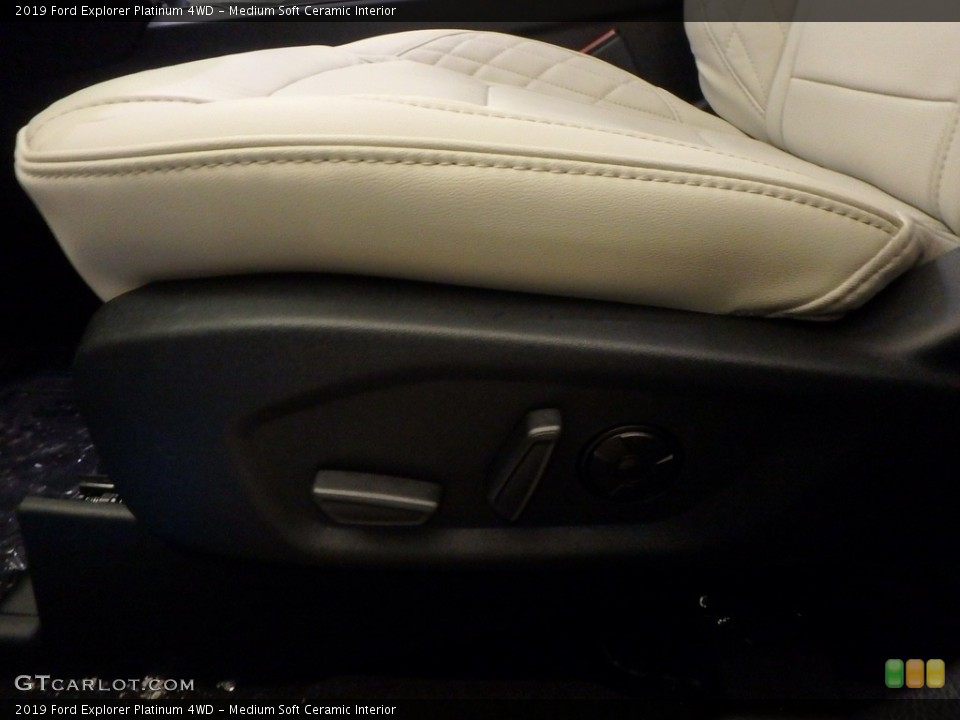 Medium Soft Ceramic 2019 Ford Explorer Interiors