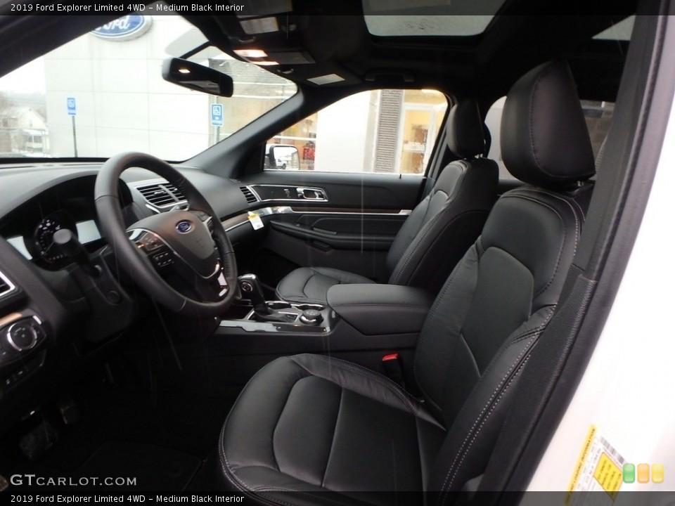 Medium Black 2019 Ford Explorer Interiors