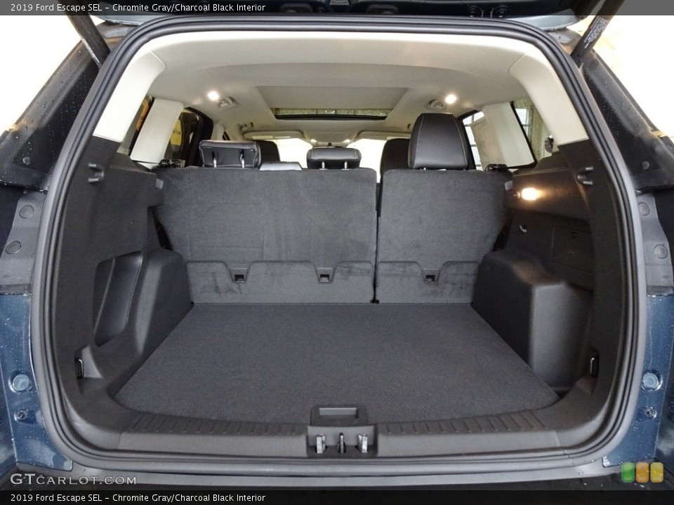 Chromite Gray/Charcoal Black Interior Trunk for the 2019 Ford Escape SEL #131598640