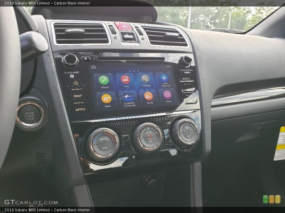 Carbon Black Interior Controls for the 2019 Subaru WRX Limited #133733339