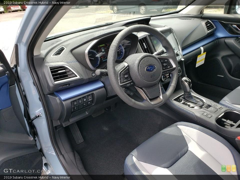 Navy Interior Front Seat for the 2019 Subaru Crosstrek Hybrid #133818407