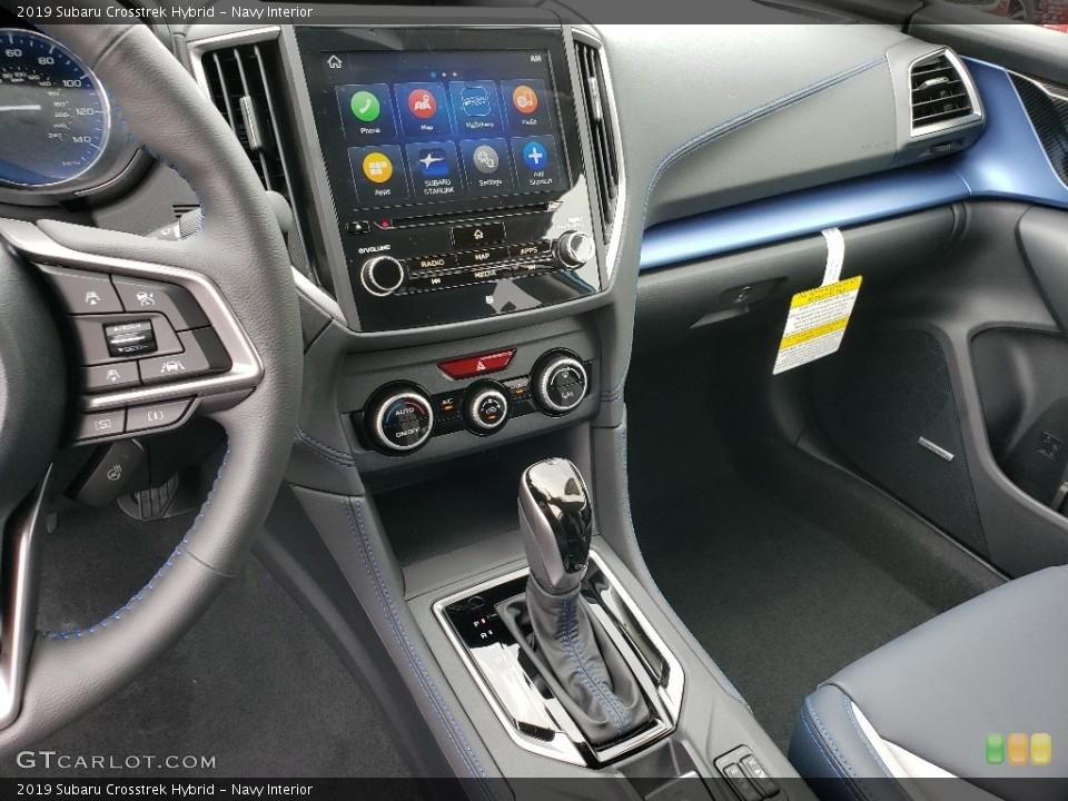 Navy Interior Controls for the 2019 Subaru Crosstrek Hybrid #133922481