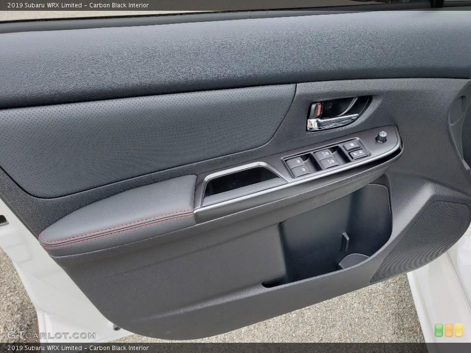 Carbon Black Interior Door Panel for the 2019 Subaru WRX Limited #133922777