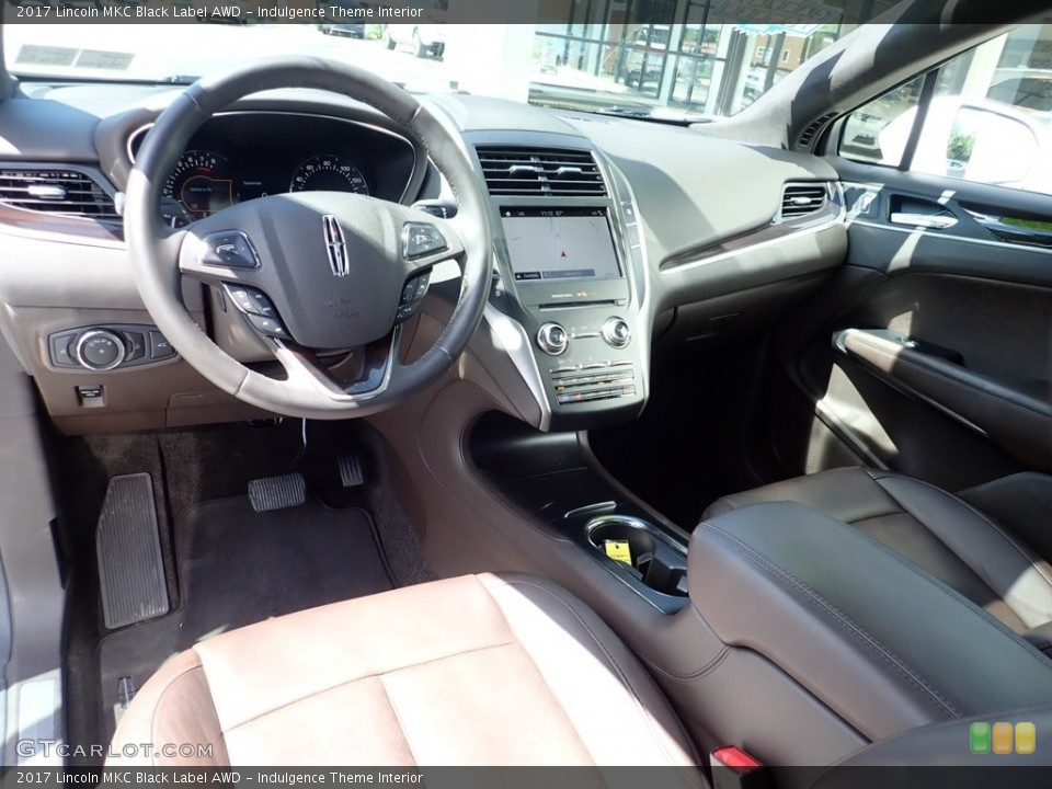 Indulgence Theme Interior Photo for the 2017 Lincoln MKC Black Label AWD #133967696