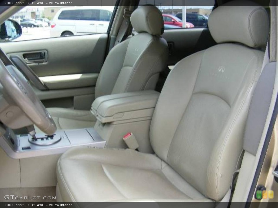 Willow Interior Front Seat for the 2003 Infiniti FX 35 AWD #13409502
