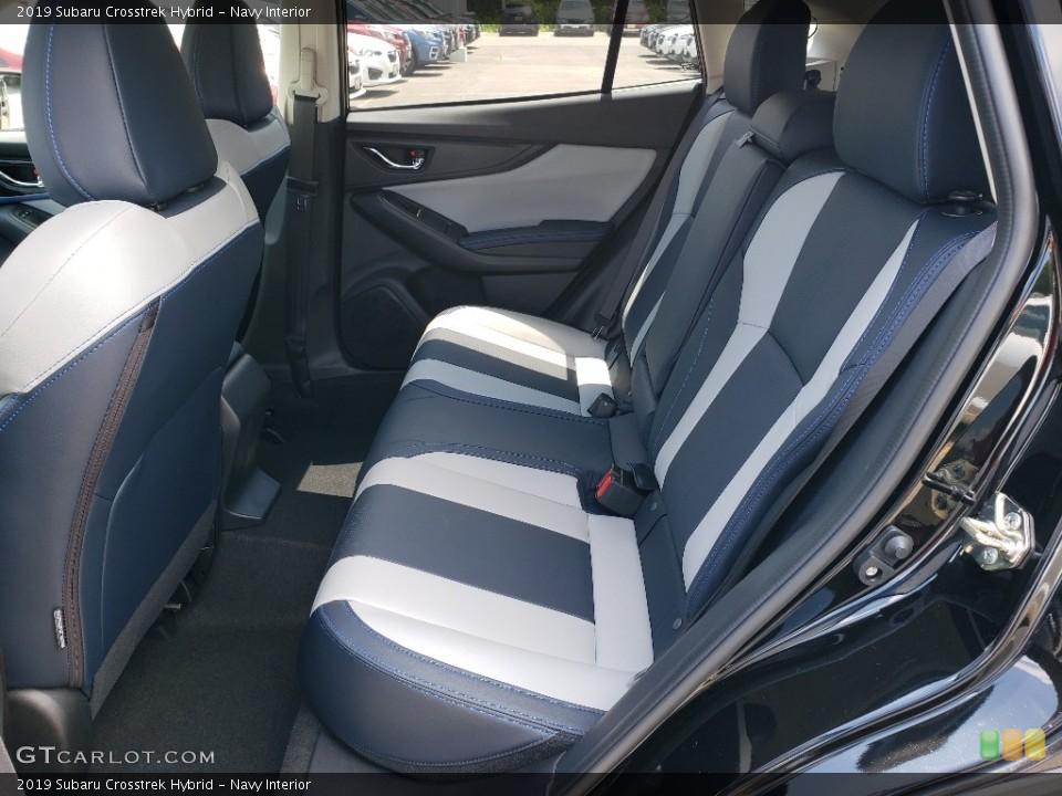Navy Interior Rear Seat for the 2019 Subaru Crosstrek Hybrid #134362158
