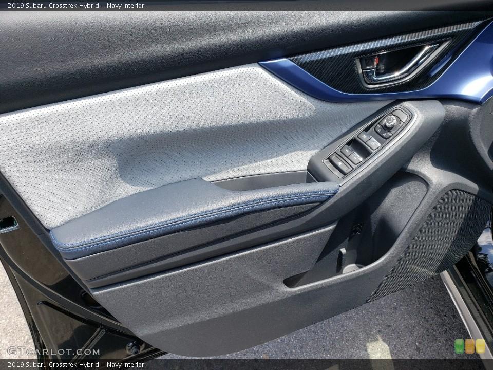 Navy Interior Door Panel for the 2019 Subaru Crosstrek Hybrid #134362209