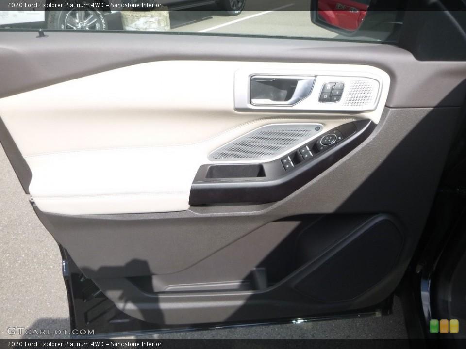 Sandstone Interior Door Panel for the 2020 Ford Explorer Platinum 4WD #135171379
