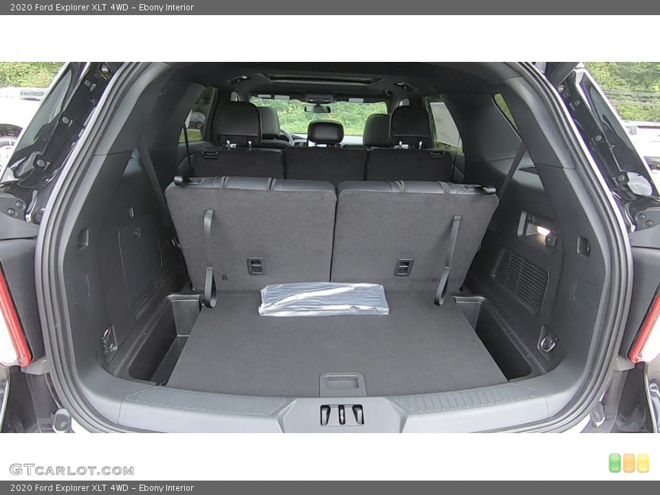 Ebony Interior Trunk for the 2020 Ford Explorer XLT 4WD #135205220